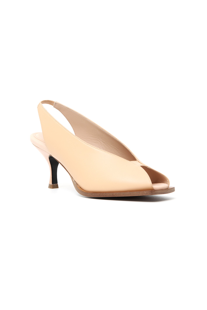 Leather slingback Intrend