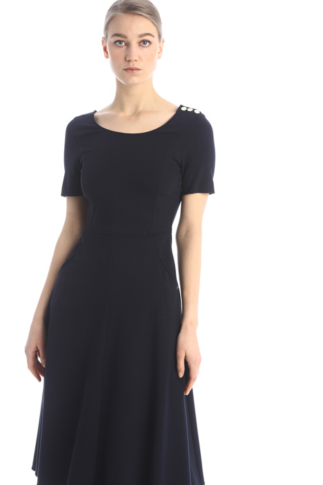 Fit and flare jersey dress Intrend