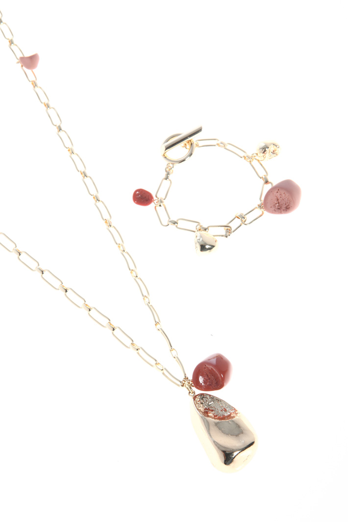 Chain set with pendants Intrend