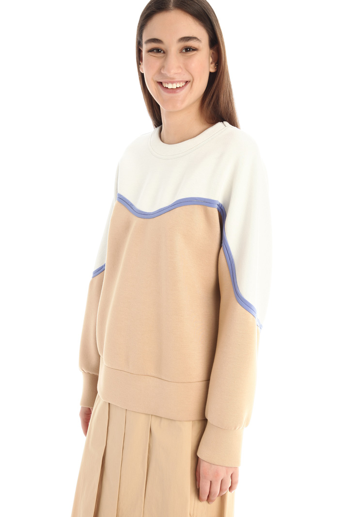 Tech jersey sweatshirt Intrend