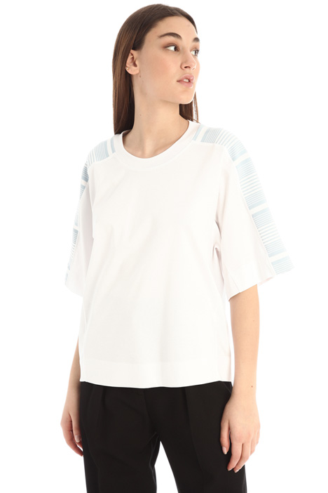 T-shirt over in cotone Intrend