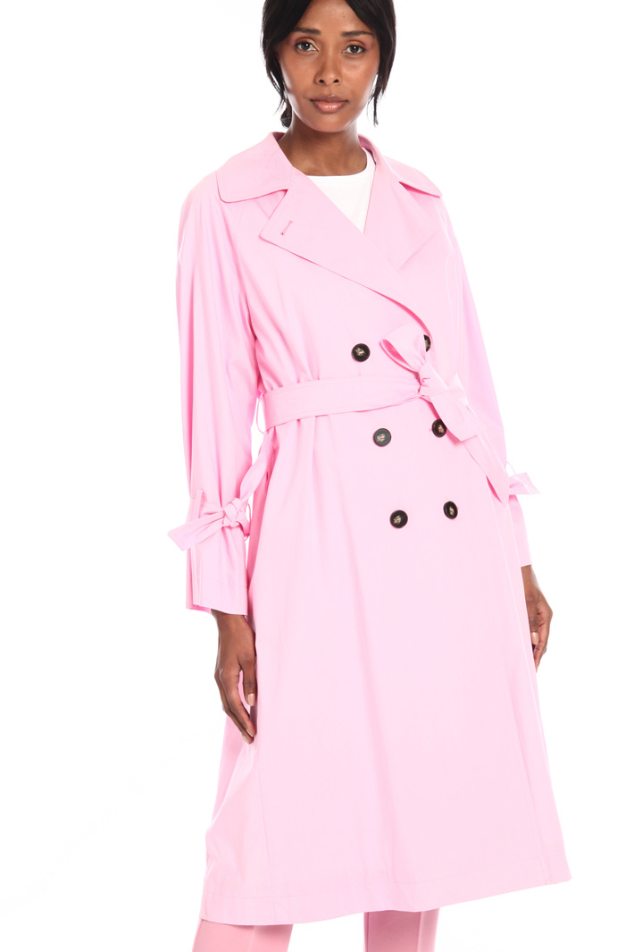 Double-breasted trench coat Intrend