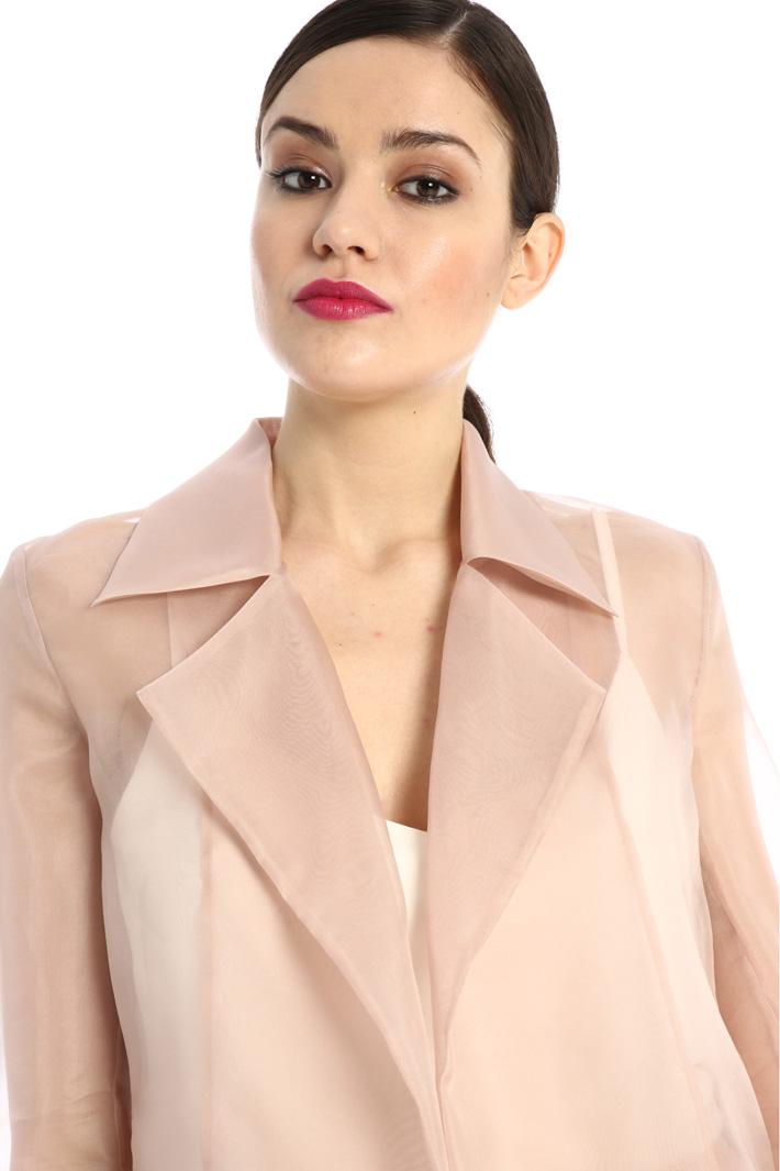 Silk organza jacket Intrend
