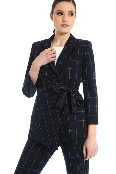 Asymmetric blazer Intrend