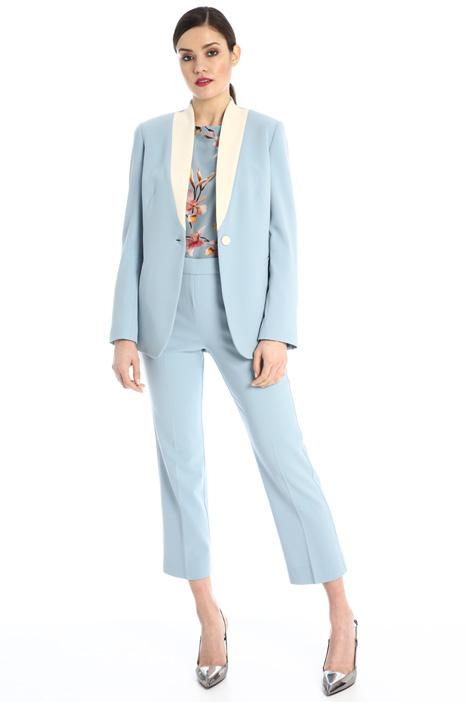 Tuxedo-style cady jacket Intrend