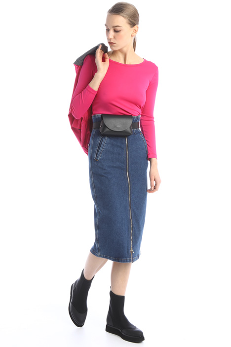 High waisted denim skirt Intrend