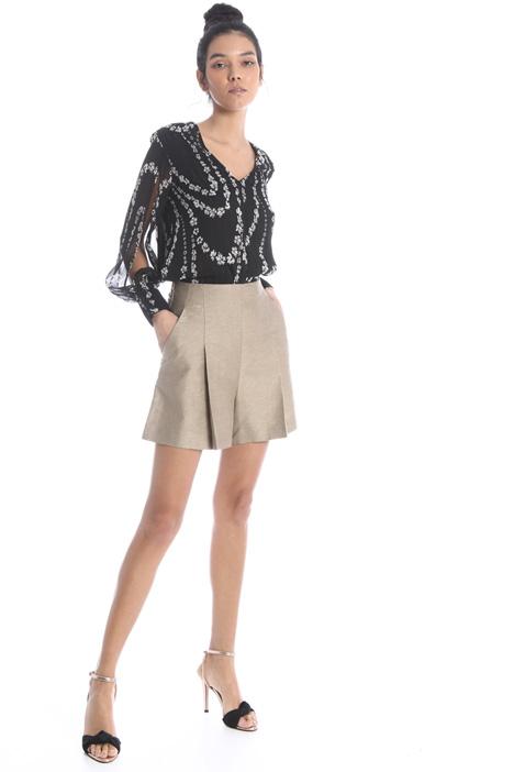 Printed creponne blouse Intrend