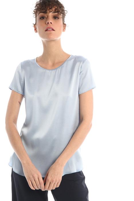 Silk satin T-shirt Intrend