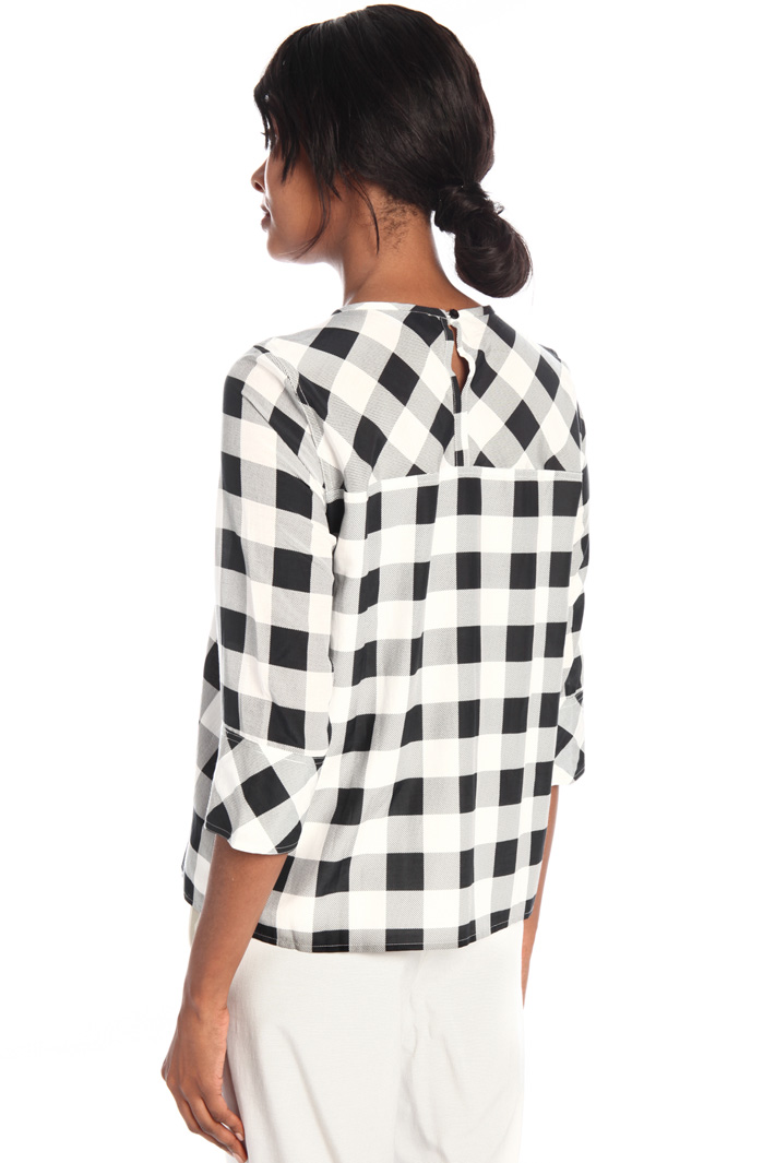 Cotton and silk blouse Intrend
