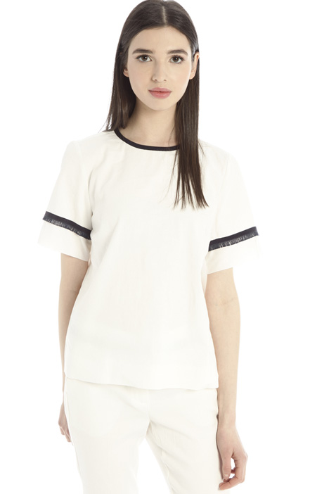 Fringe-trimmed tunic Intrend