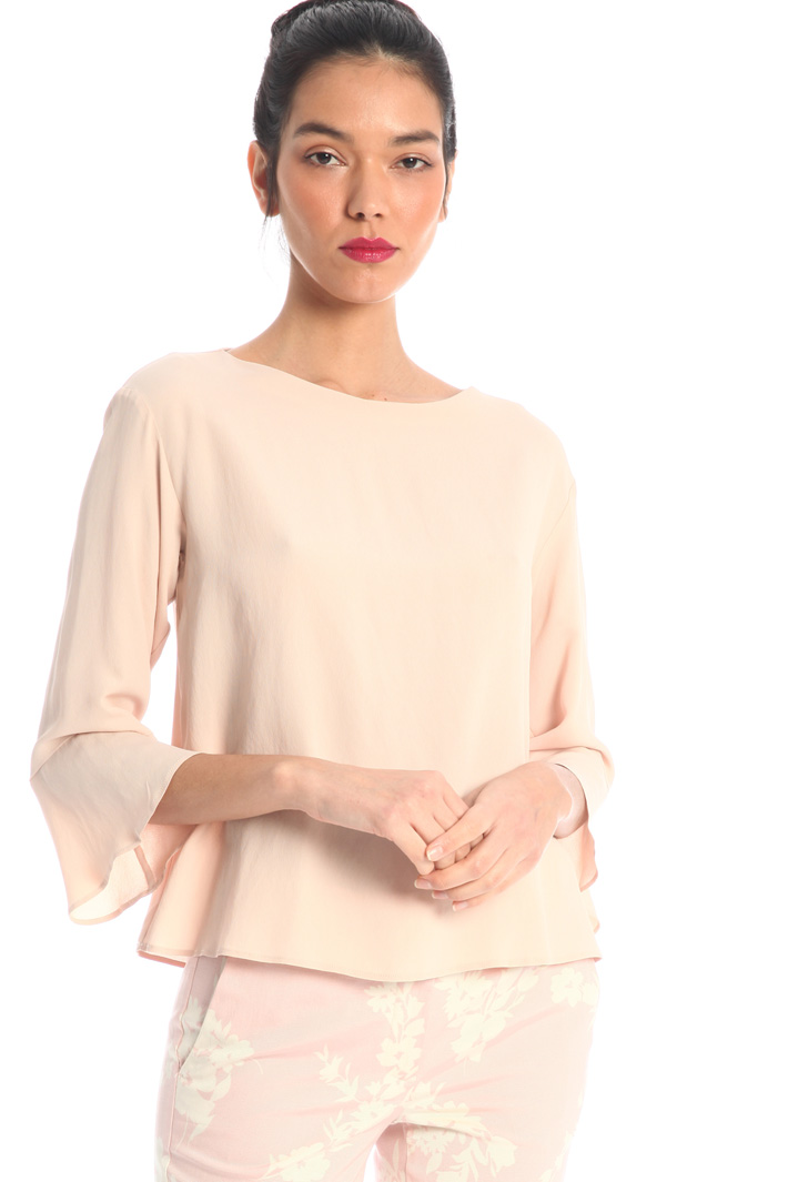 Silk crepe blouse Intrend