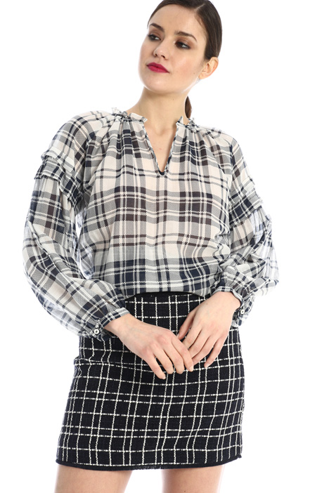 Cotton muslin blouse Intrend