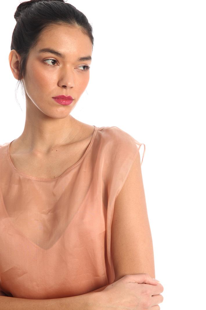 Silk organza top Intrend