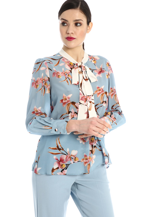 Silk crepe shirt Intrend