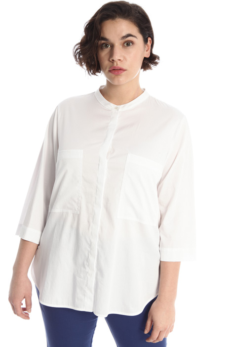 Cotton satin shirt Intrend