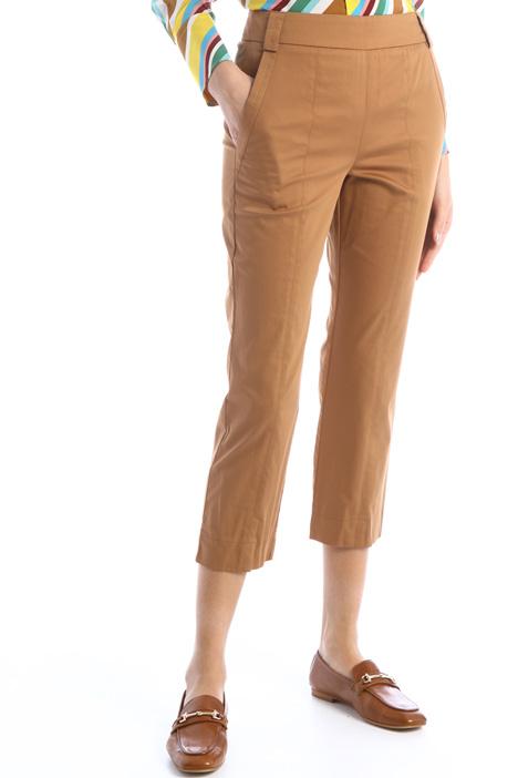 Pantaloni in raso a sigaretta Intrend
