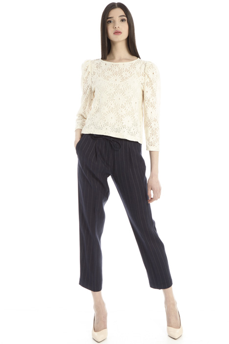 Pinstripe trousers Intrend