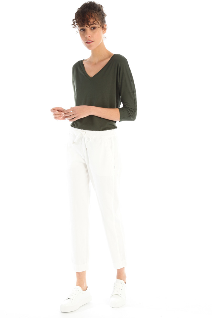 Soft drill trousers Intrend