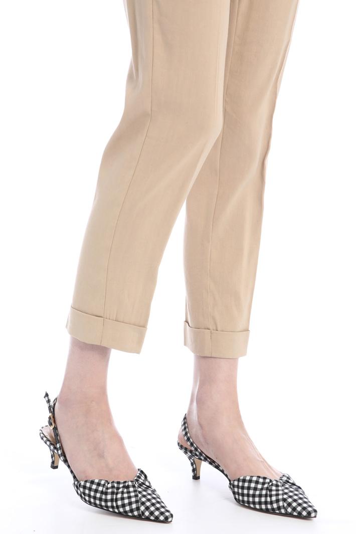 Linen blend trousers Intrend