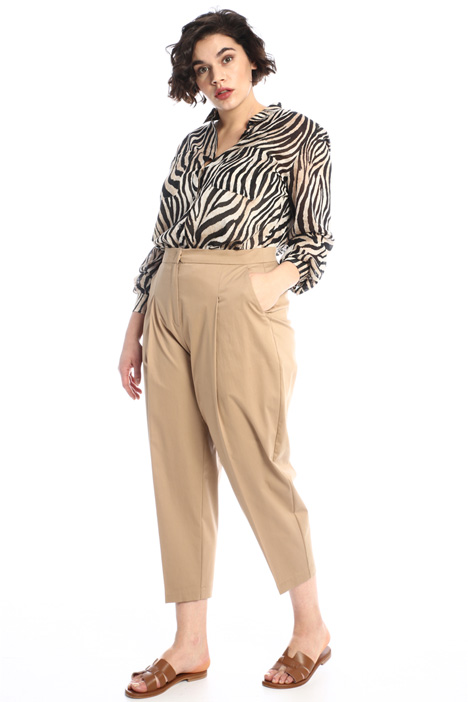 Satin trousers Intrend