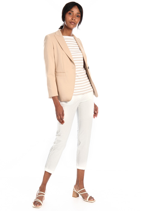 Skinny trousers in poplin Intrend