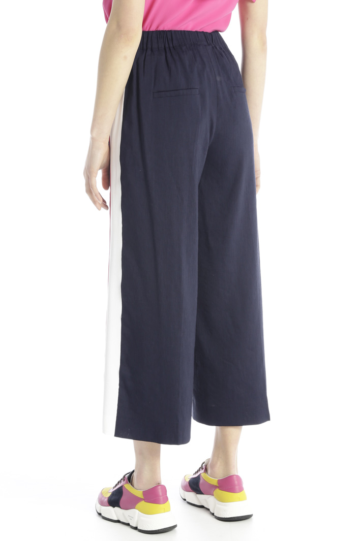 Wide leg cropped trousers Intrend