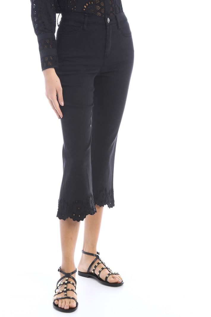 Scalloped jeans Intrend