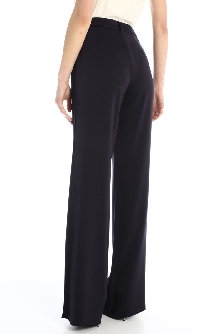 Satin palazzo trousers Intrend