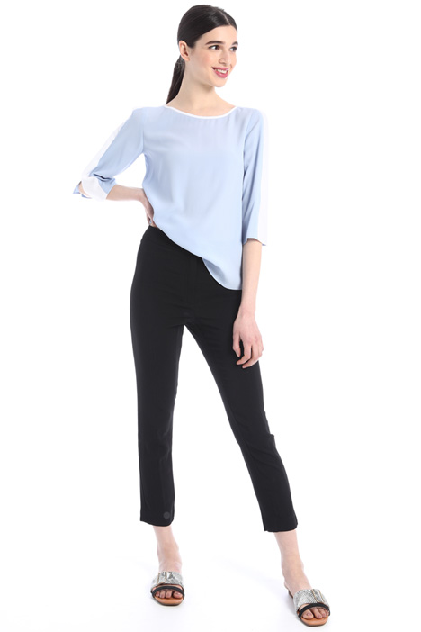 Stretch georgette trousers Intrend