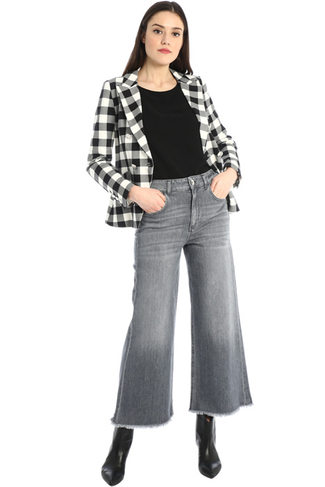 Jeans cropped  Intrend