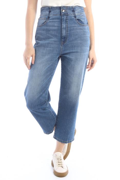 Jeans dritti in denim stretch Intrend