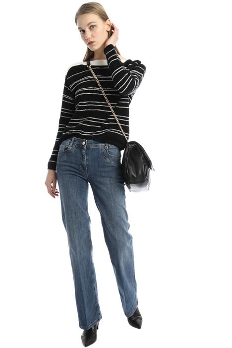 Jeans dritti stretch Intrend