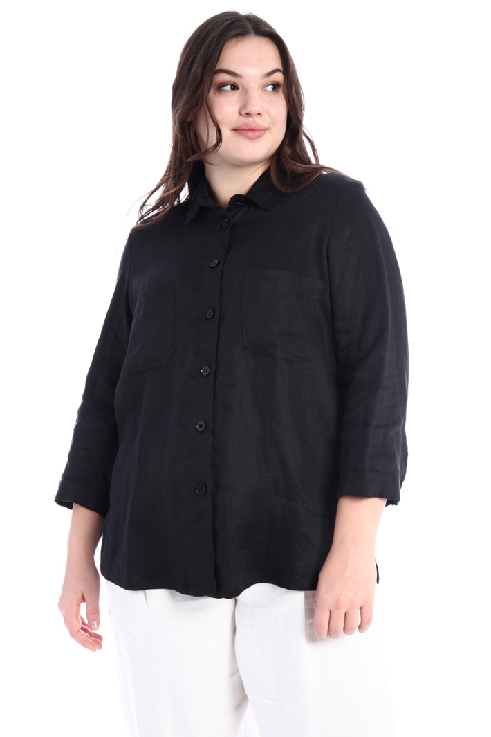 Linen satin shirt Intrend