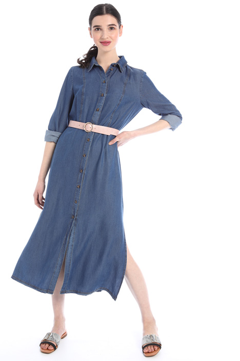 Denim chemisier dress Intrend