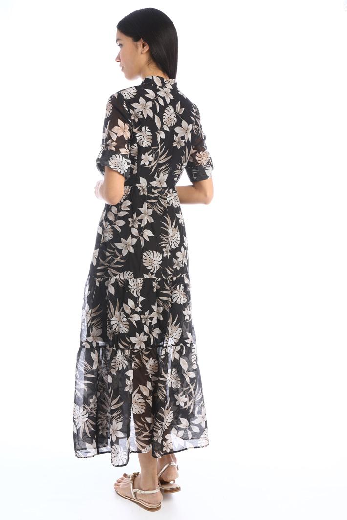 Muslin chemisier dress Intrend
