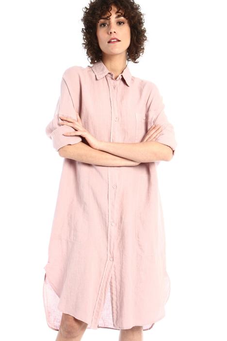Linen chemisier dress Intrend