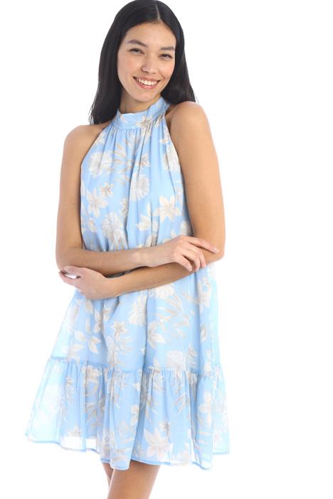Short muslin dress Intrend