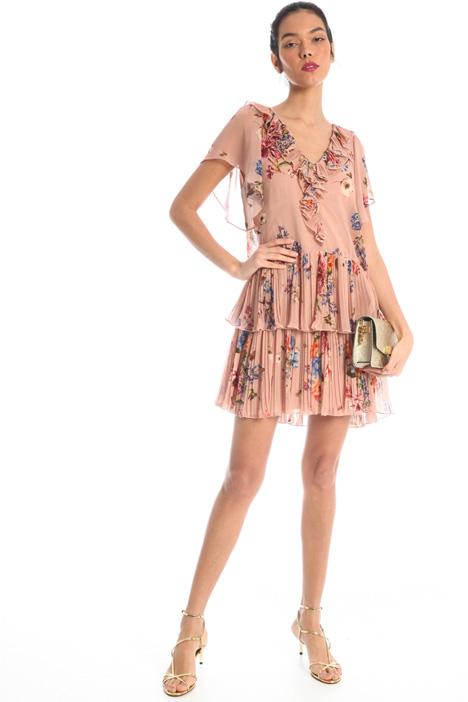Short georgette dress Intrend