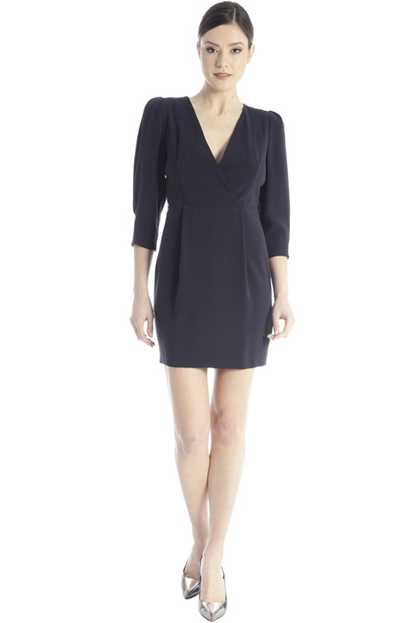 Fitted crepe dress Intrend