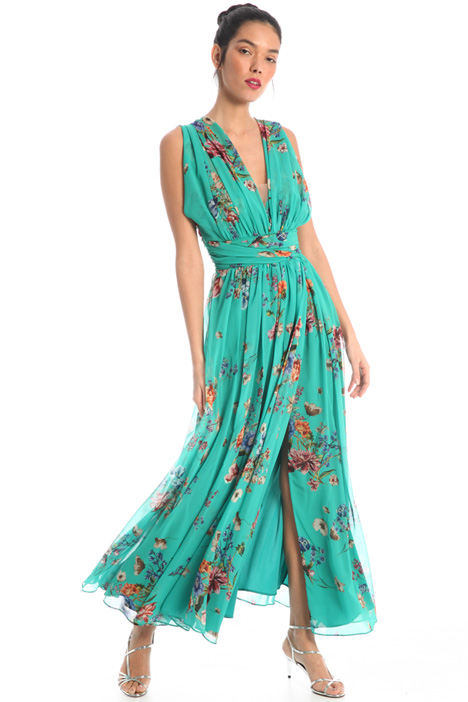 Draped dress Intrend