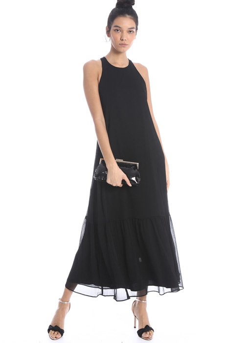 Dress with flounces Intrend