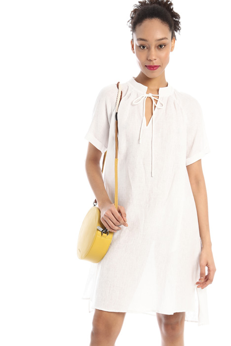 Loose fit linen dress Intrend