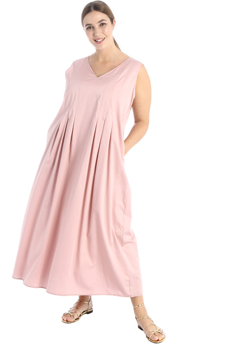 Cotton satin dress Intrend
