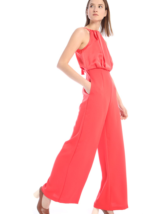 Crepe satin jumpsuit Intrend