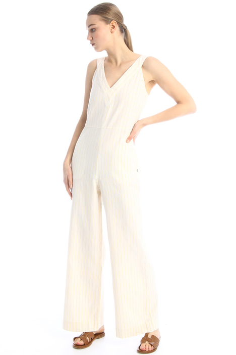Linen and cotton jumpsuit Intrend