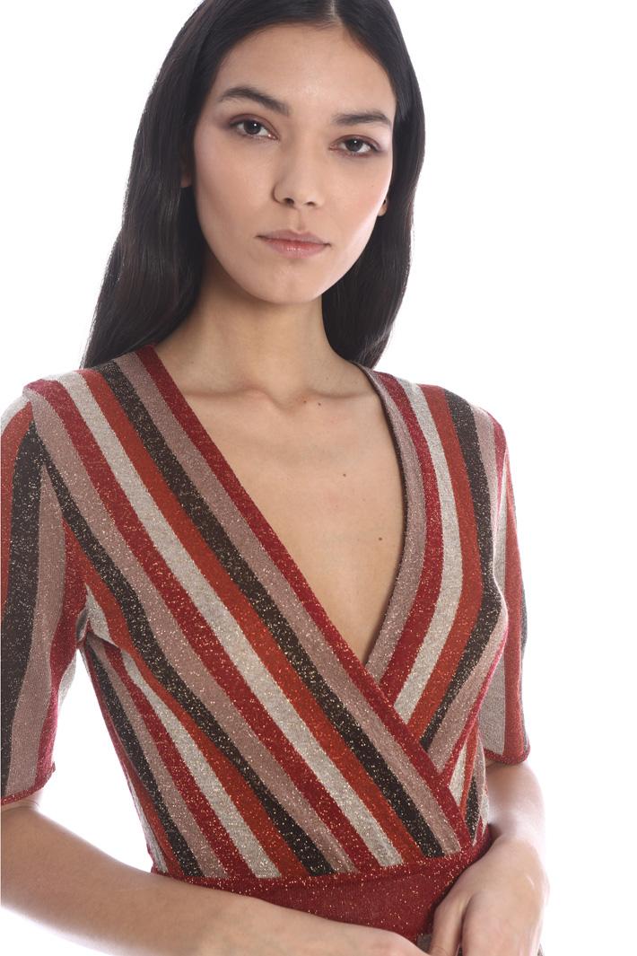 Lurex knit dress Intrend