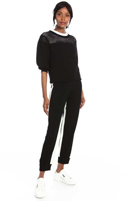 Straight leg knit trousers Intrend
