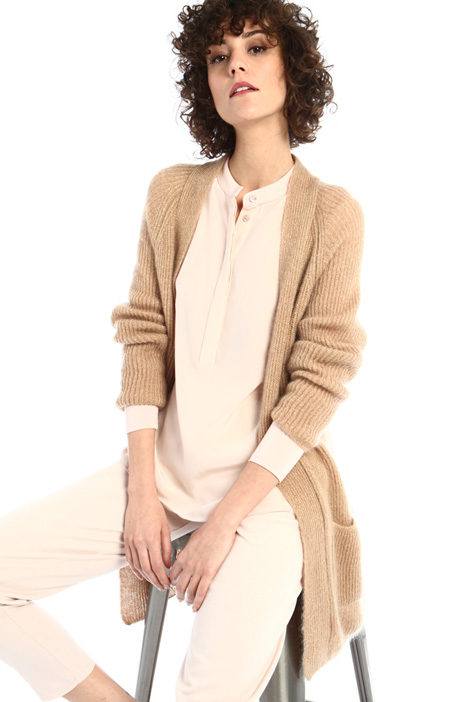 Mohair and wool cardigan Intrend