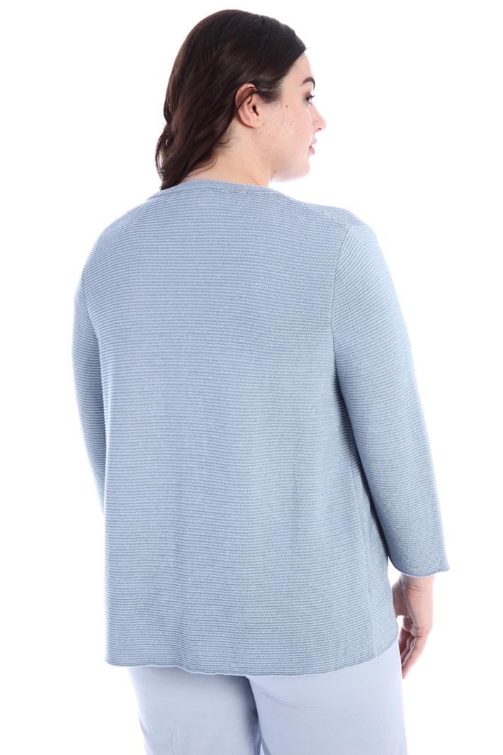 Lurex cotton cardigan Intrend
