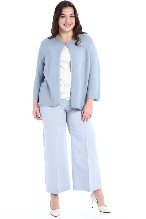 Lurex cotton cardigan Intrend
